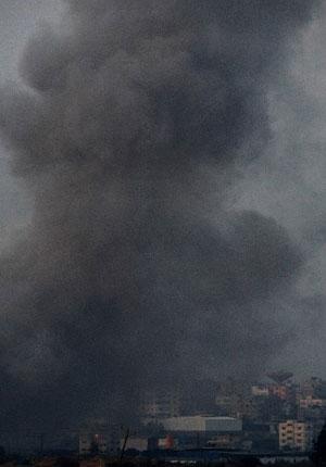 bombardment-in-gaza