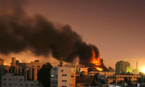 israelie-air-strike-gaza-city-afp