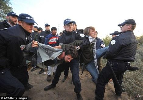 refugee arrested