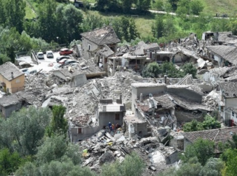 Italy earthquake general image